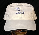 Life is Good - Choose Life Hat  -  Cat No: LGHT01  -  Click To Order  -  ID: 24